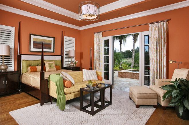 Mediterranean Bedroom by London Bay Homes