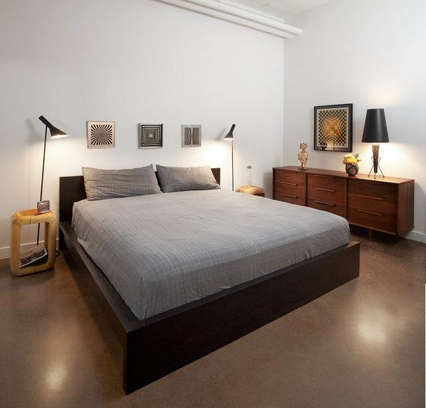 コンテンポラリー 寝室 by stephane chamard