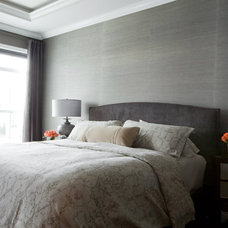 Contemporary Bedroom by Elizabeth Reich