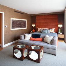 Contemporary Bedroom by Robert Granoff