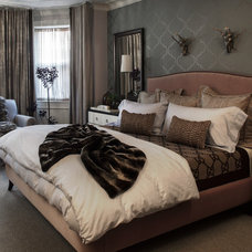 Contemporary Bedroom by Sean Litchfield Photography