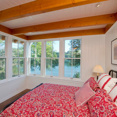 Farmhouse Bedroom by BC&J Architecture