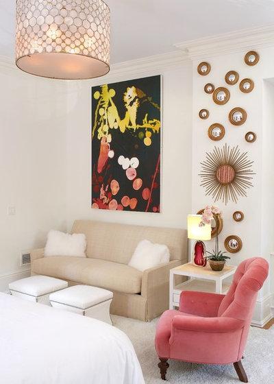 Clásico renovado Dormitorio by Lynne Scalo Design
