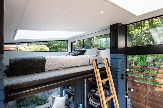 Contemporary Bedroom by Board & Vellum