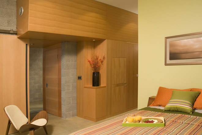 Contemporary Bedroom by Coates Design Architects Seattle