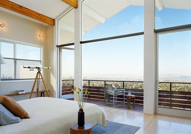 コンテンポラリー 寝室 by Malcolm Davis Architecture