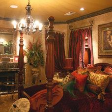 Mediterranean Bedroom by Denise Haddock