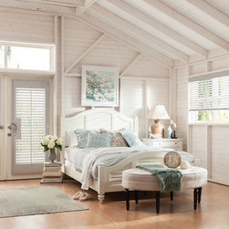 """Wood, Faux Wood and Fabric Blinds - 2"""" Wood Blinds with Cord and Chain Control with Coordinating Shutters: Cloud 1764"""