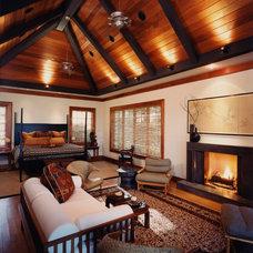 Asian Bedroom by Amanda Webster Design