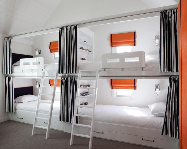 Contemporary Bedroom by Diane Bergeron Interiors