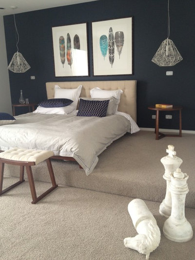 Contemporary Bedroom by Colour Confidence Interiors