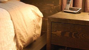 Band Sawn Fir Bedroom Set