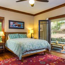 Craftsman Bedroom by Parker Studios