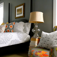 Eclectic Bedroom by the redesign company