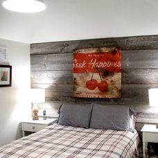 Farmhouse Bedroom by barnboardstore