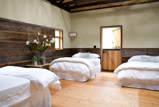 Farmhouse Bedroom by SHED Architecture & Design