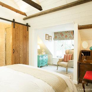 Inspiration for a craftsman bedroom remodel in Seattle