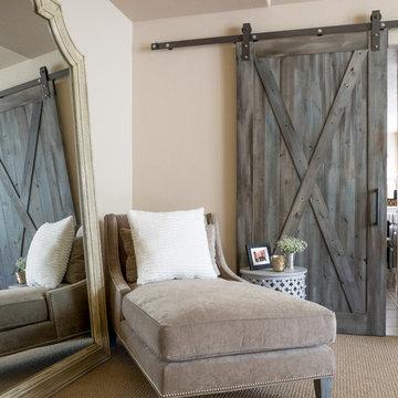 Barn Doors and Built-Ins