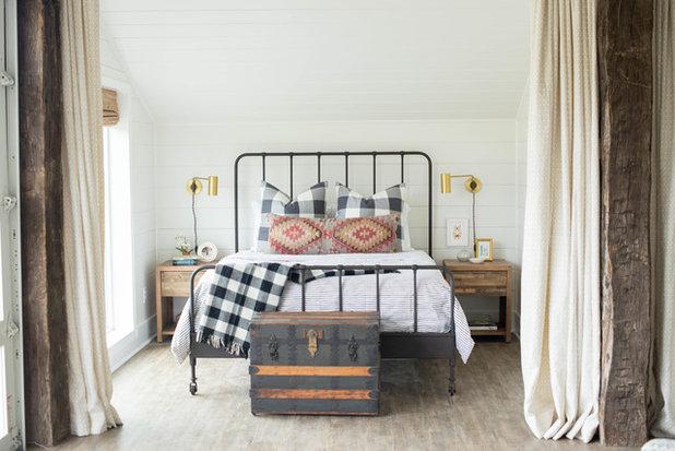 Farmhouse Bedroom by Sarah Catherine Design