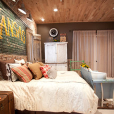 Contemporary Bedroom by Barn Light Electric Company