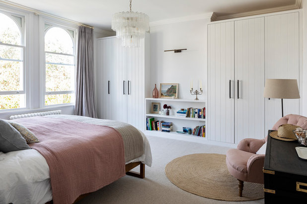 Transitional Bedroom by Imperfect Interiors