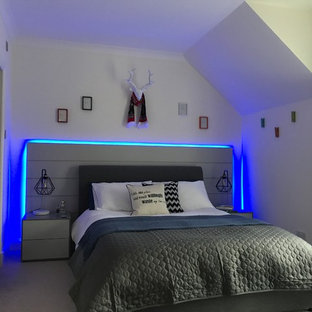 Modernes Schlafzimmer in Edinburgh