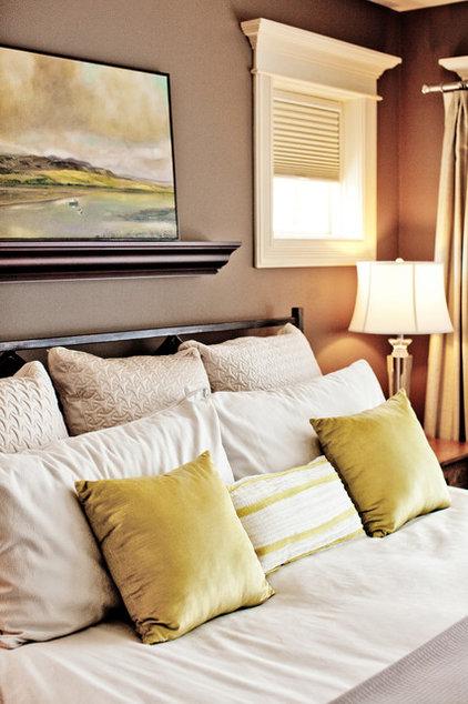 Traditional Bedroom by Caroline Harrison Designs Inc