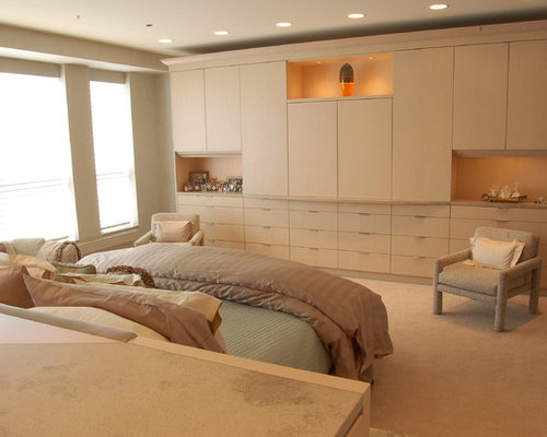 Master Bedroom Built Ins Houzz