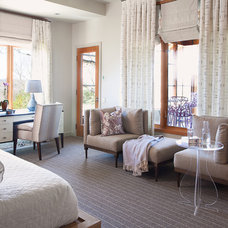 Transitional Bedroom by Kailey J. Flynn Photography