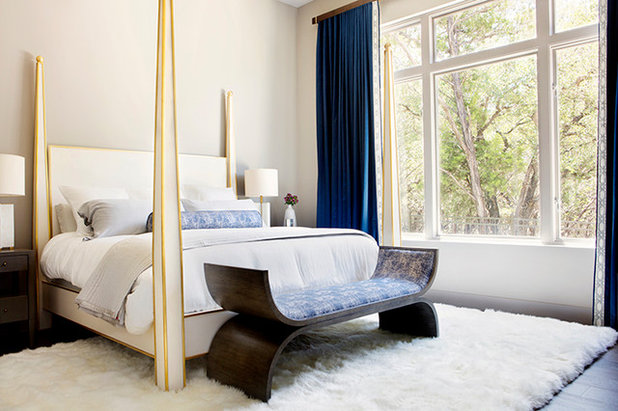 Transitional Bedroom by Etch Design Group