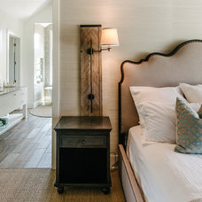 Transitional Bedroom by Schroeder