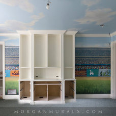 Eclectic Bedroom by Murals by Morgan