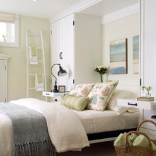 Contemporary Bedroom by Laura Stein Interiors
