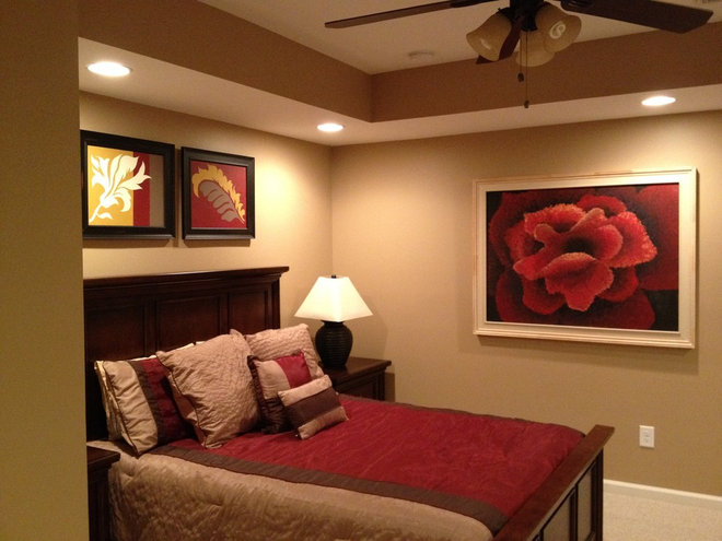 Traditional Bedroom by Equitable Construction Company