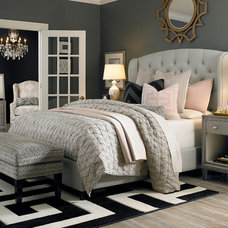 Contemporary Bedroom by Bassett Furniture