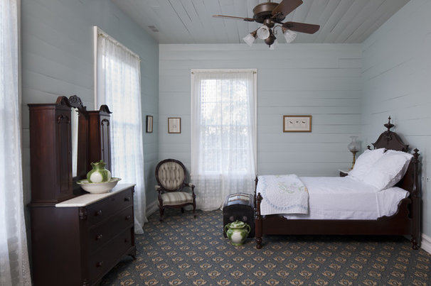 Farmhouse Bedroom by Volz O'Connell Hutson
