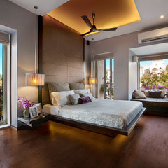 asian bedroom by Adapt Studios