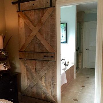 Bathroom Barn Doors