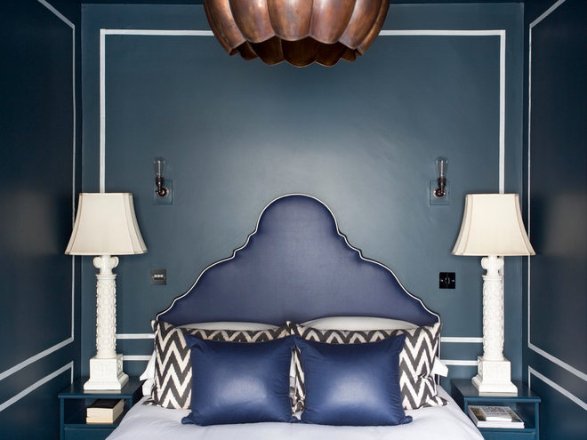 Eclectic Bedroom by Henry Prideaux Interior Design