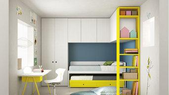 Battistella Nidi Childrens Bedroom Compostion No 26 from Go Modern