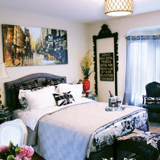 Eclectic Bedroom by Canadian Home Trends Magazine