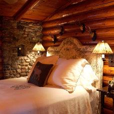 Rustic Bedroom by Albertsson Hansen Architecture, Ltd