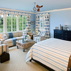 Traditional Bedroom by Bruce Palmer Coastal Design