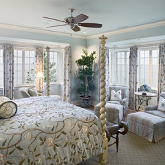 traditional bedroom by Bruce Palmer Interior Design