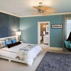 Contemporary Bedroom by Bruce Palmer Interior Design