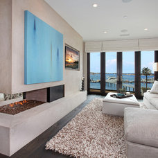 Contemporary Bedroom by Patterson Custom Homes
