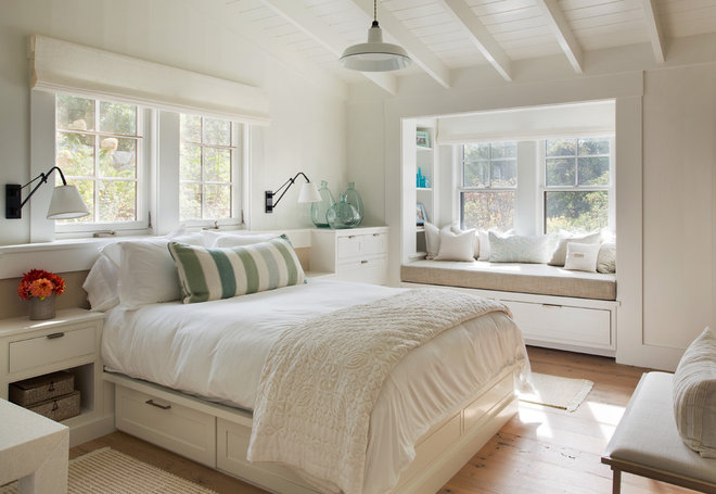 Farmhouse Bedroom by John Thayer Cabinetmakers, LLC