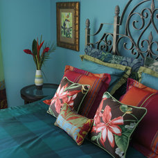 Eclectic Bedroom by Blue Daze Designs