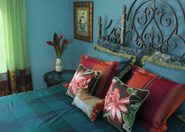 Eclectic Bedroom by Blue Daze Designs