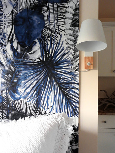 Beach Style Bedroom by NATASHA HABERMANN STUDIO